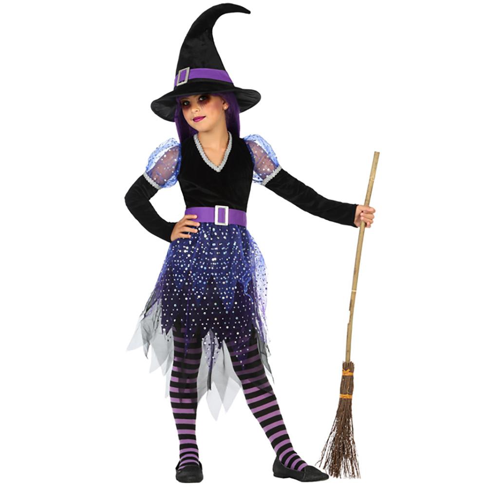bec427da7a55 ▷ Disfraz Bruja Noche Infantil Halloween - Envíos en 24 H ✅