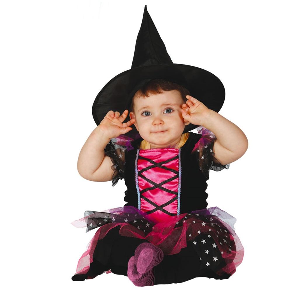 Disfraz Bruja Pink Bebé