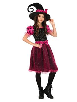 Disfraz Bruja Pink Infantil