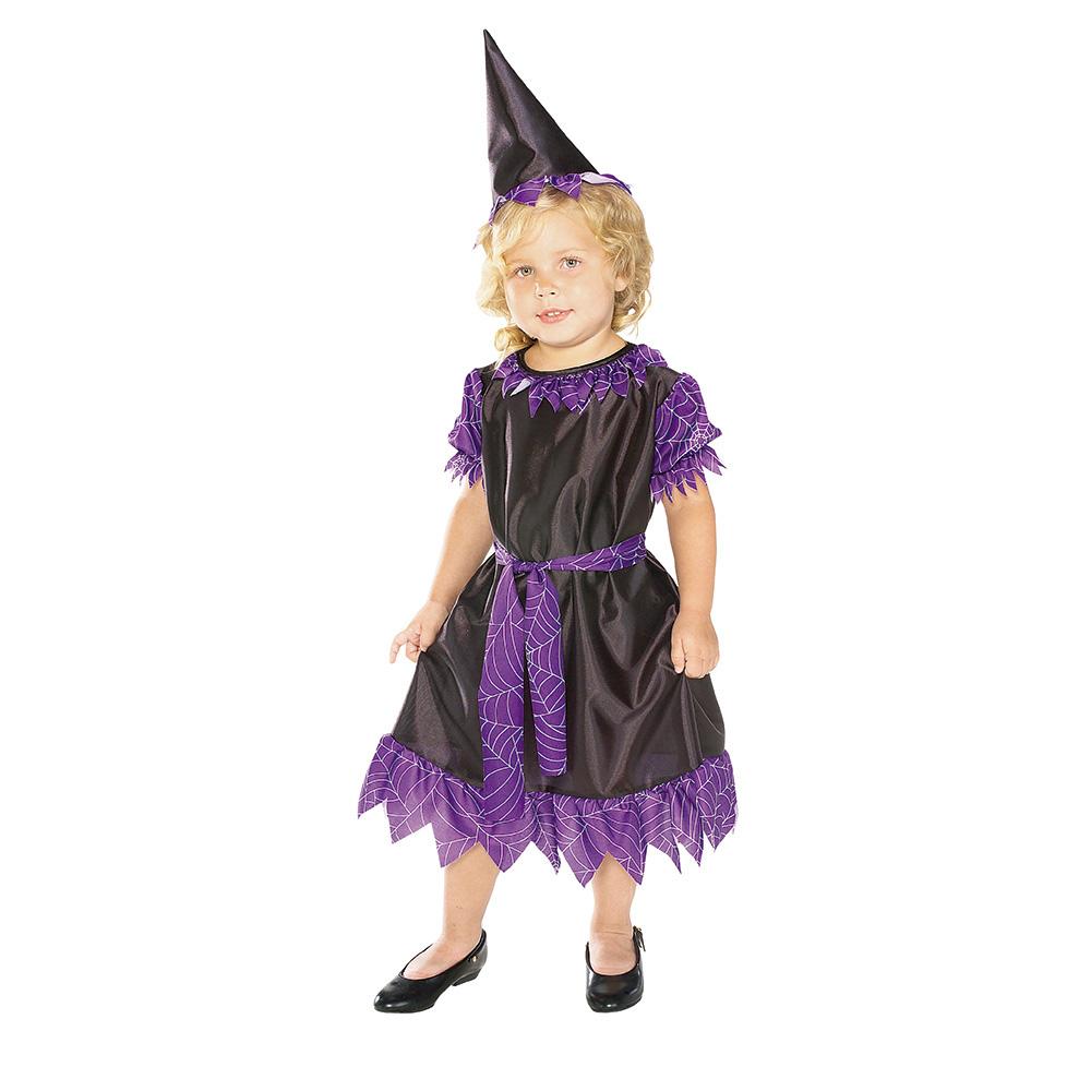 Disfraz Bruja Púrpura Bebé