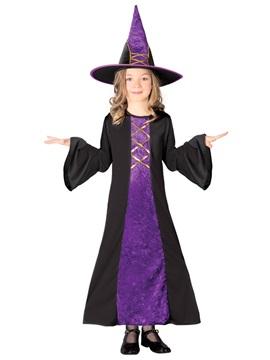 Disfraz Bruja Terciopelo Infantil