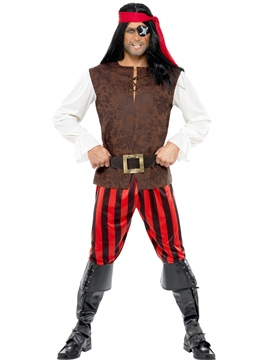 Disfraz Bucanero Pirata Adulto