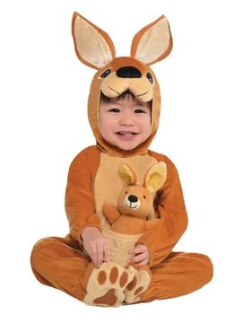 Disfraz Canguro con Muñeco Bebé
