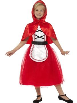 Disfraz Caperucita Roja Deluxe Infantil