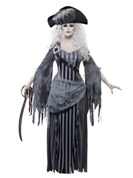 Disfraz Capitana Barco Fantasma