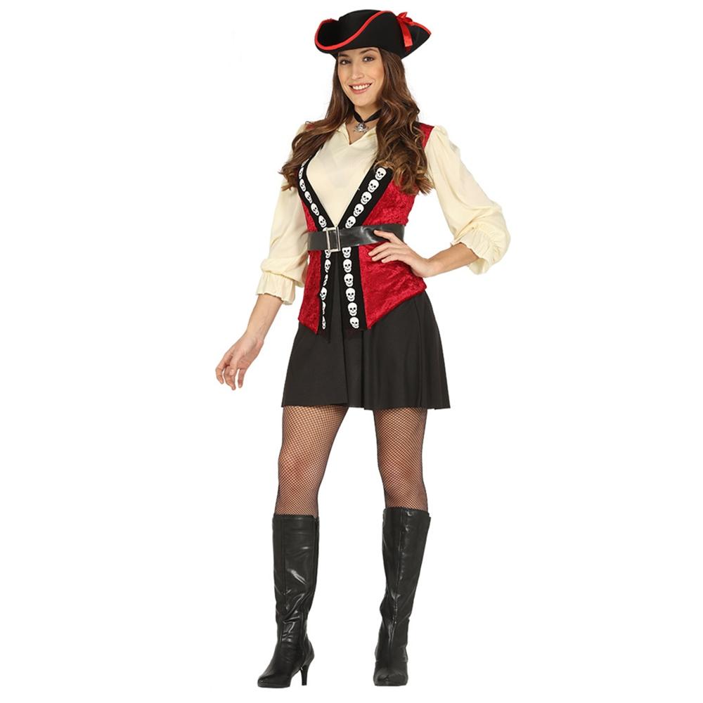Disfraz Capitana Pirata Adulto