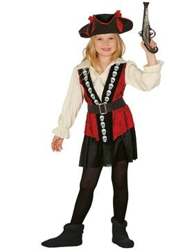 Disfraz Capitana Pirata Infantil