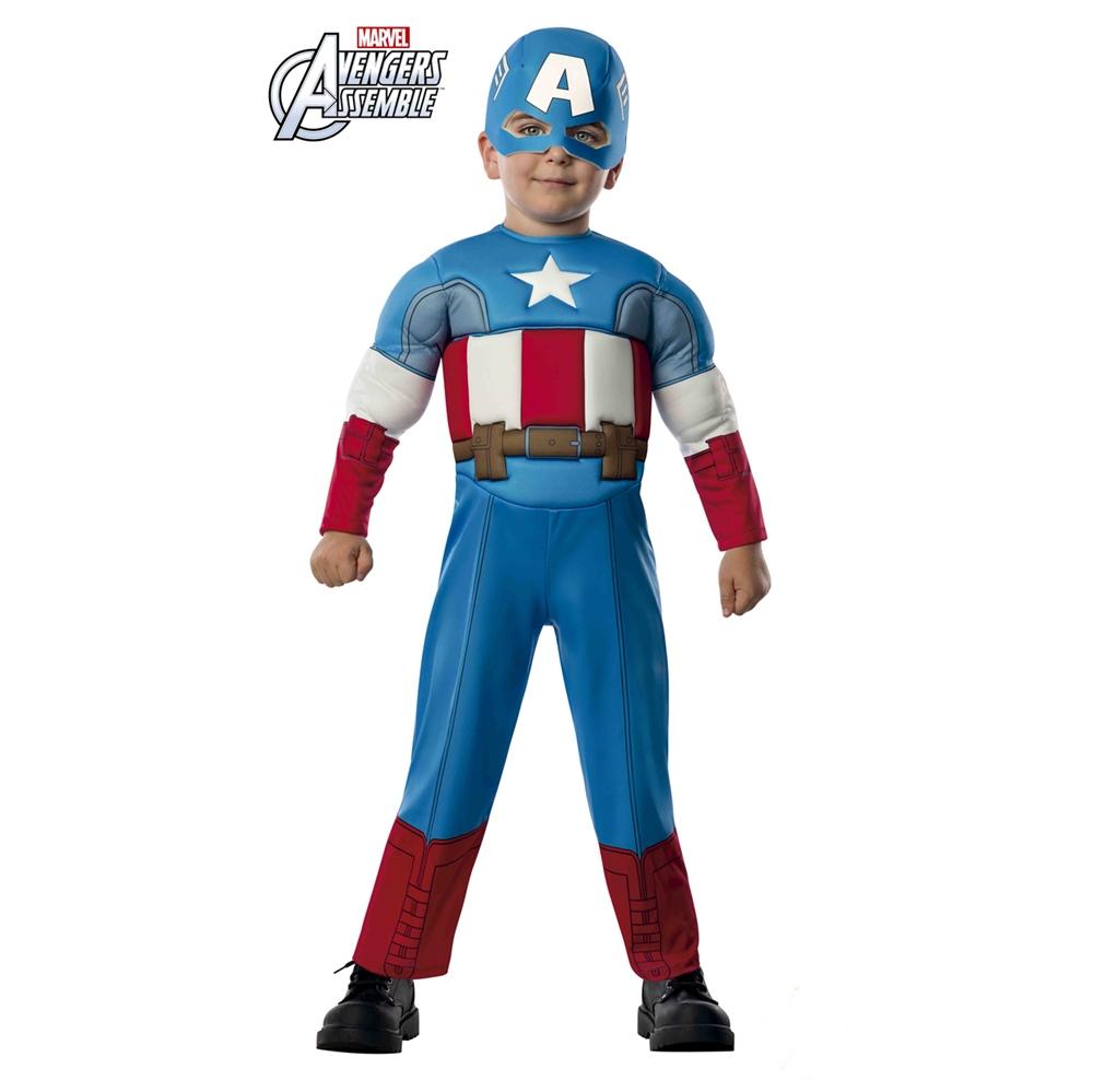 Disfraz Capitán América Bebé