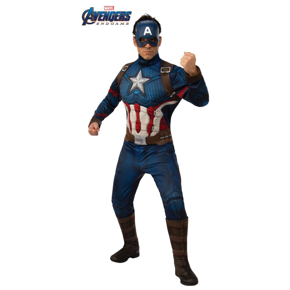 Disfraz Capitán América Endgame Deluxe Adulto