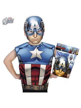 Disfraz Capitán América Partytime Set