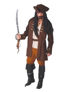 Disfraz Capitán Pirata con Sombrero Adulto