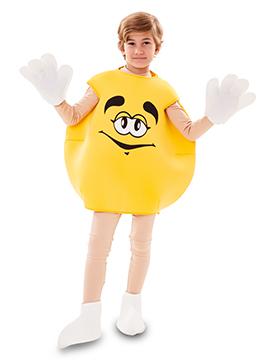 Disfraz Caramelo Amarillo Infantil