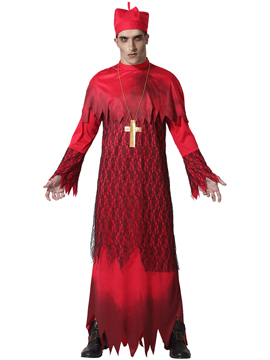 Disfraz Cardenal Poseído Adulto