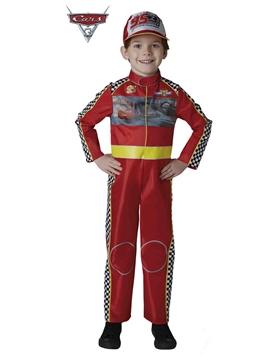 Disfraz Cars McQueen Deluxe Infantil