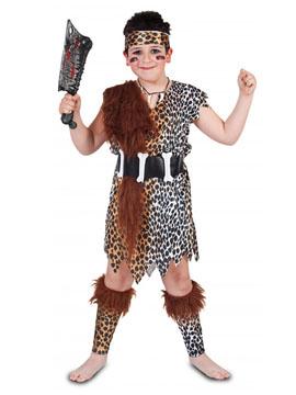 Disfraz Niño Cavernícola Edad Piedra Infantil