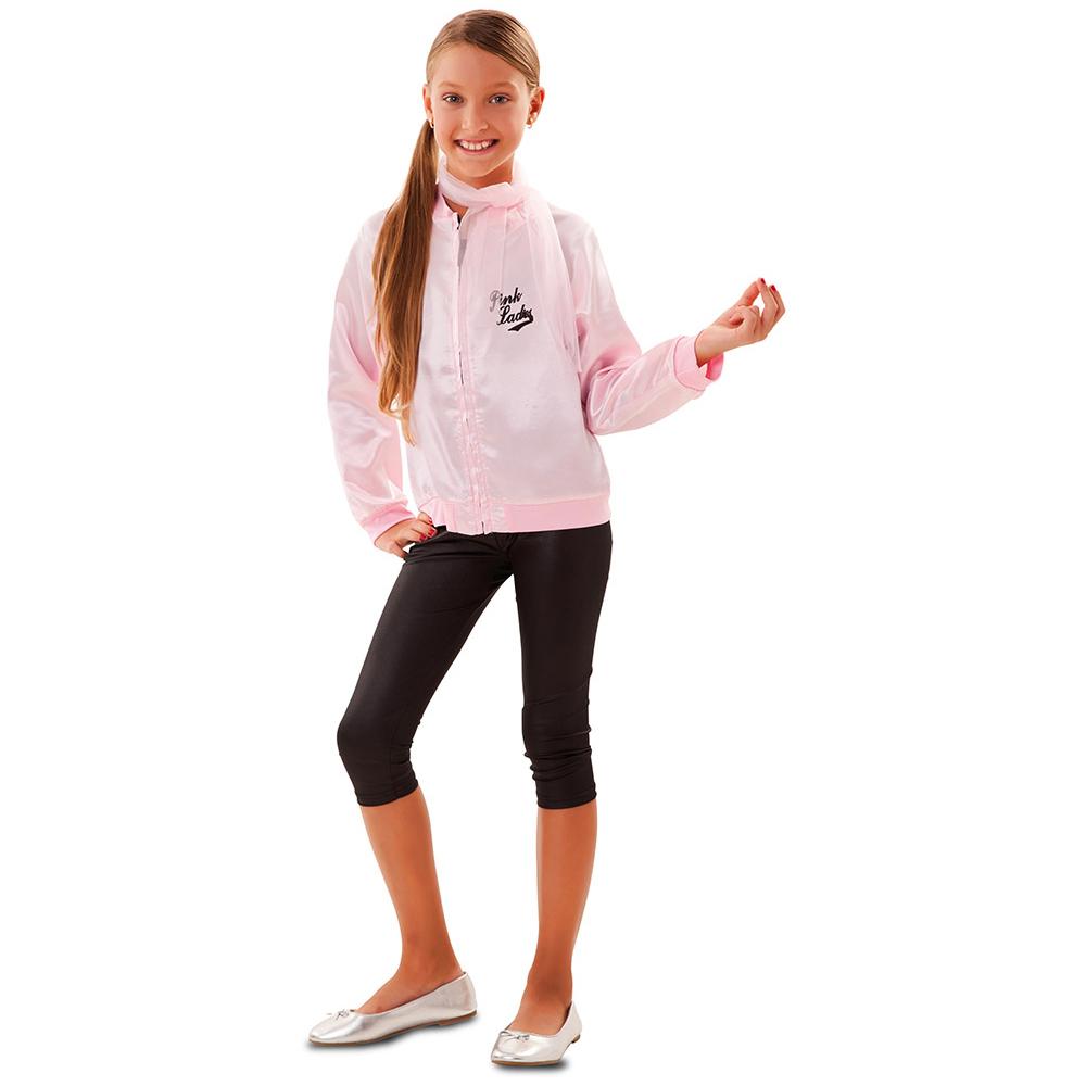 Disfraz Chica Años 50 Pink Ladies Infantil