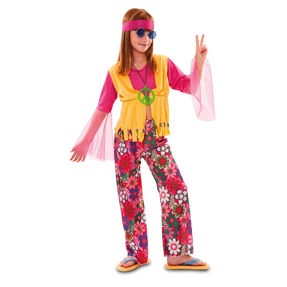 Disfraz Chica Hippie Infantil