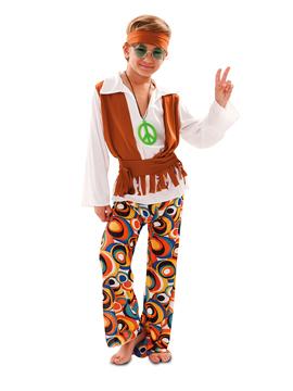 Disfraz Chico Hippie Infantil