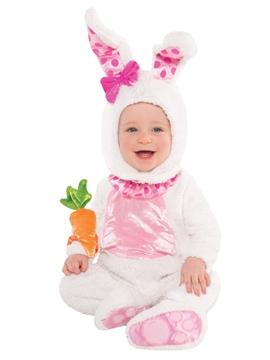 Disfraz Conejito Blanco Bebé