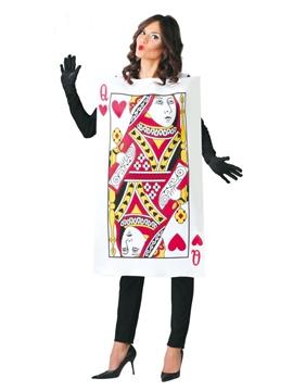 Disfraz Dama de Cartas Adulto