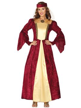 Disfraz Dama Medieval Adulta