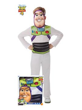 Disfraz Buzz Lightyear Toy Story con Máscara Infantil