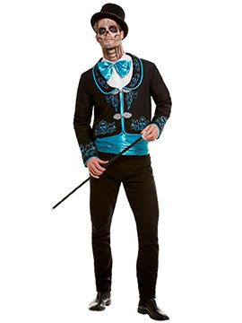 Disfraz Catrín Azul Adulto