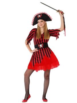Disfraz Chica Pirata Adolescente