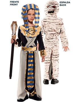 Disfraz Doble Fun Egipcio Momia Infantil