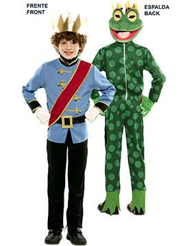 Disfraz Doble Fun Príncipe Rana Infantil