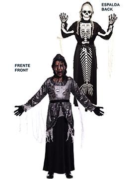 Disfraz Doble Fun Viuda Esqueleto Infantil