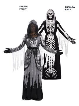 Disfraz Doble Viuda Esqueleto Adulto