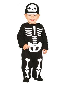 Disfraz de Esqueleto Bebé