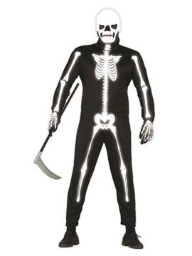 Disfraz Esqueleto Glow in the Dark Adulto