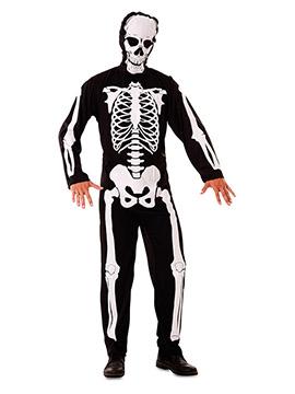 Disfraz Esqueleto Halloween Adulto