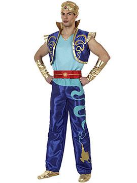 Disfraz Genio Azul Adulto
