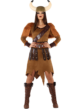 Disfraz Guerrera Vikinga Adulto