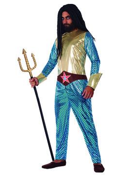 Disfraz Héroe Comic Acuático Adulto