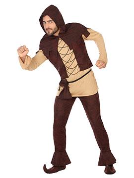 Disfraz Campesino Medieval Adulto