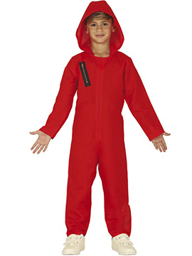 Disfraz Ladrón Rojo Infantil