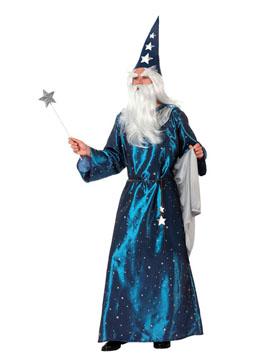 Disfraz Mago Azul Adulto