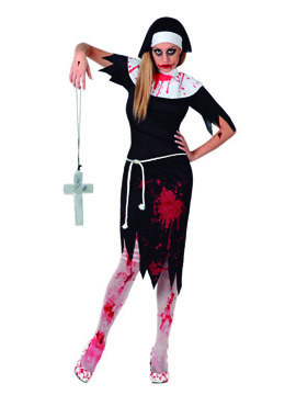 Disfraz Monja Sangrienta Adulto