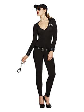 Disfraz Mujer Agente FBI Adulto
