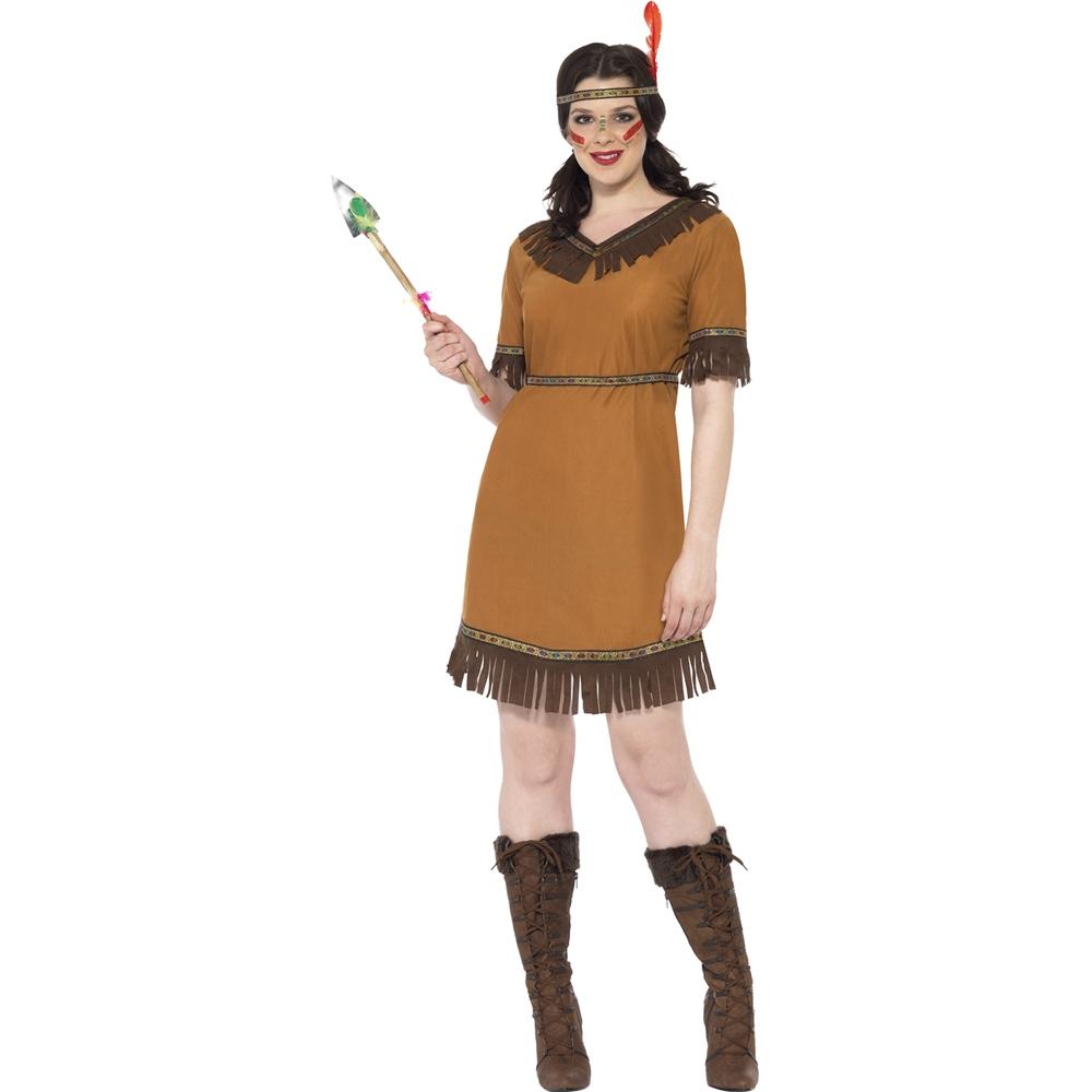 Disfraz India Nativa americana