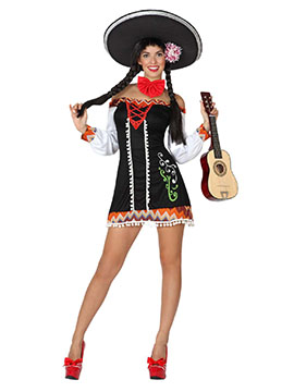 Disfraz Mujer Mariachi Adulto