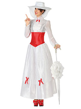 Disfraz Mujer Niñera Adulto