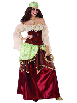 Disfraz Mujer Zíngara Adulto