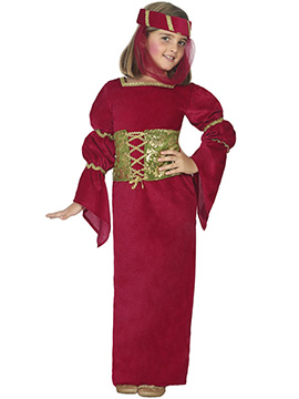 Disfraz Niña Dama Medieval Infantil