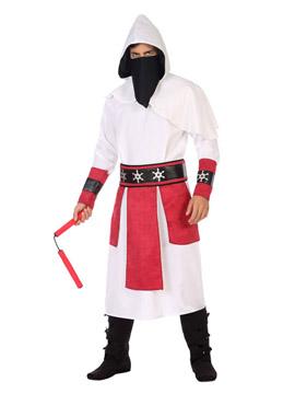 Disfraz Ninja Blanco Adulto