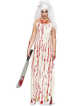 Disfraz Novia Asesina Sangrienta Adulto